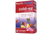 cold ez lozenges lemon and honey