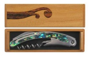 Corkscrew - Stainless Steel and Paua