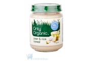 only organic pear and rice cereal