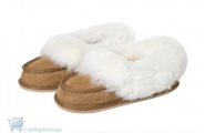 classic moccasin sheepskin slippers