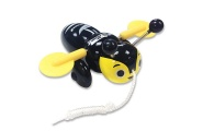 Buzzy Bee Pull Along Toy- All Blacks Limited Edition