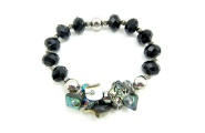 Paua Scrunch Bracelet By Hint of New Zealand