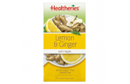 Lemon & Ginger Tea- Healtheries- 20 Teabags