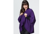 Women's Two Way Shrug- Amethyst Purple