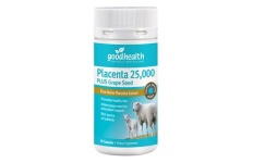 Good Health Placenta 25,000mg Plus Grape Seed